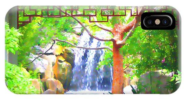 Japanese Gardens IPhone Case