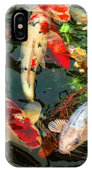 Koi iPhone Case - Japanese Koi Fish Pond by Jennie Marie Schell