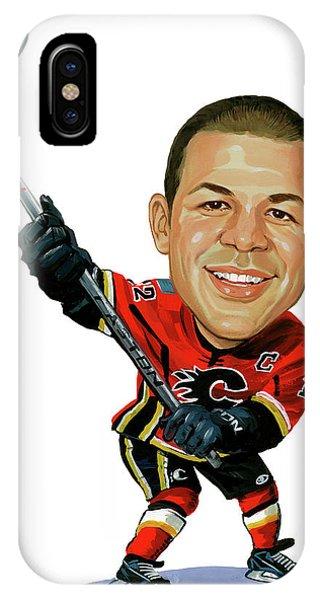 Jarome Iginla Phone Case by Art