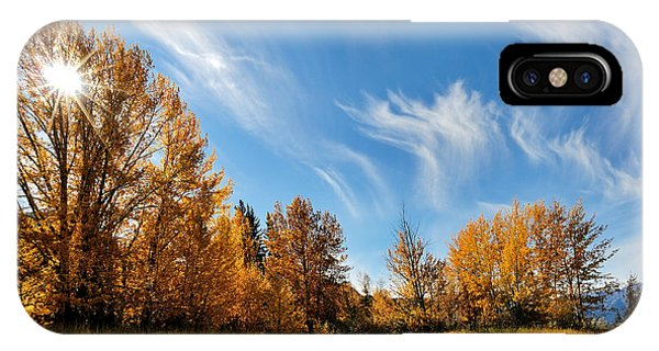 Jasper - Autumn Sky Chief IPhone Case