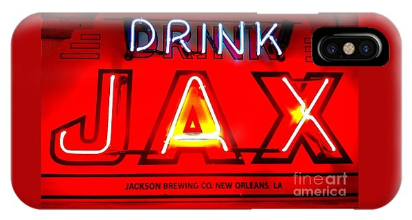 Jax Beer Of New Orleans IPhone Case