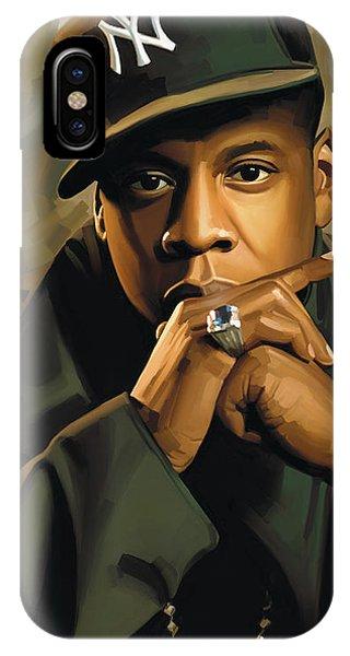 Jay-z Artwork 2 IPhone Case