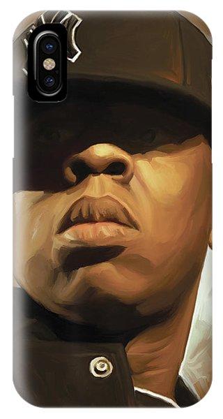 Jay-z Artwork IPhone Case