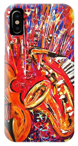 Jazz And The City 2 IPhone Case
