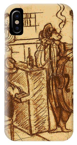 Jazz Bar 1940's Phone Case by Jazzboy