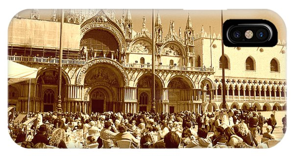 Jazz In Piazza San Marco IPhone Case