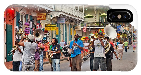 Jazz It Up On The New Orleans Summer Streets IPhone Case