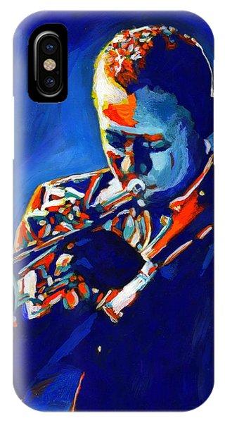 Jazz Man Miles Davis Phone Case by Vel Verrept