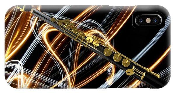Jazz Soprano Sax IPhone Case