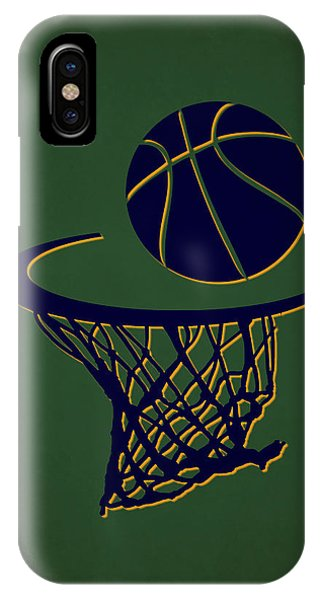 Jazz Team Hoop2 IPhone Case