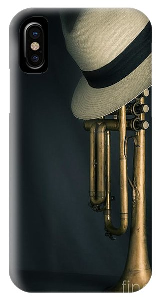 Yellow Trumpet iPhone Case - Jazz Trumpet by Carlos Caetano