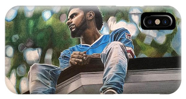 J.cole - 2014 Forest Hills Drive Drawing IPhone Case