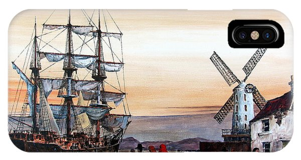 Jeanie Johnston Famine Ship IPhone Case