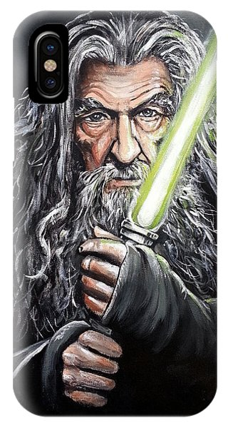 Jedi Master Gandalf IPhone Case