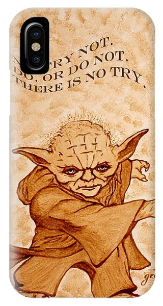 Jedi Yoda Wisdom IPhone Case