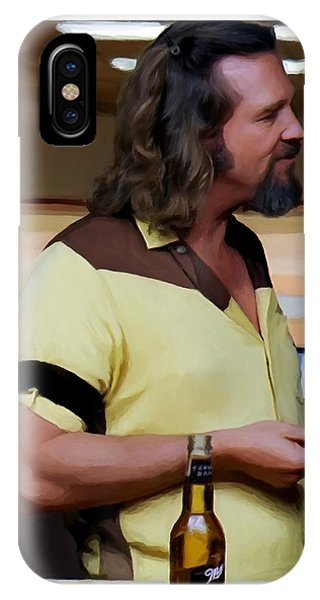 Jeff Bridges As The Dude IPhone Case