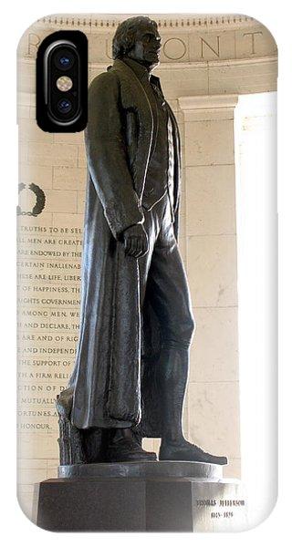 Jefferson Memorial In Washington Dc IPhone Case