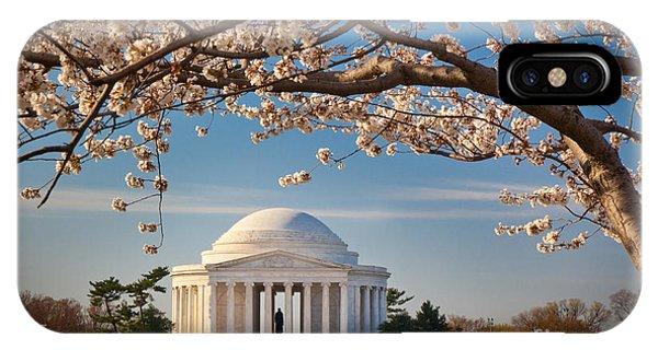 D.c. iPhone Case - Jefferson Memorial by Inge Johnsson