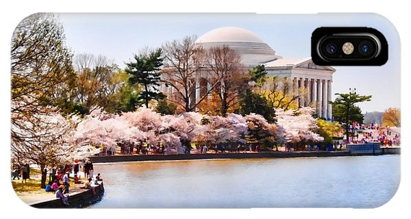 Jefferson Memorial Washington Dc IPhone Case