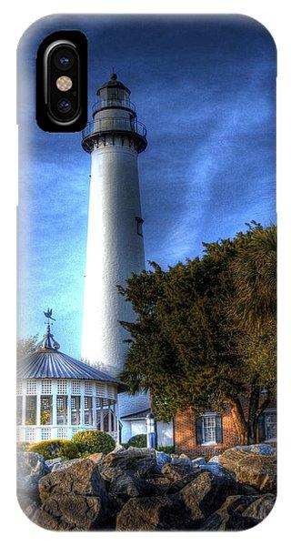 Jekyll Island Lighthouse IPhone Case