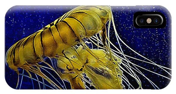Jellyfish Aglow IPhone Case