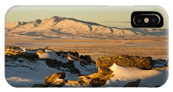 Jelm Mountain In Snow IPhone Case