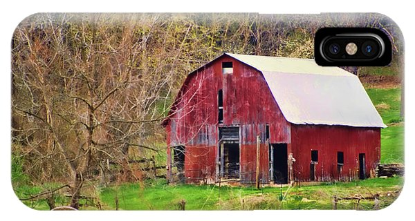 Jemerson Creek Barn IPhone Case