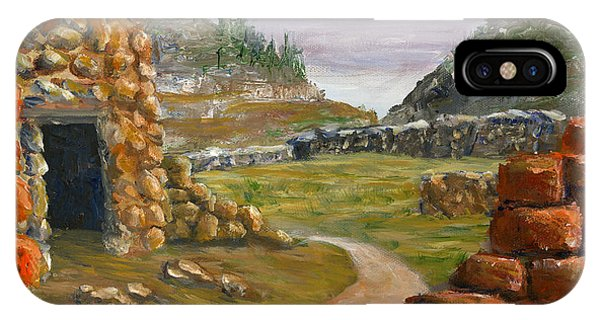Jemez Inspired Pathway Landscape IPhone Case