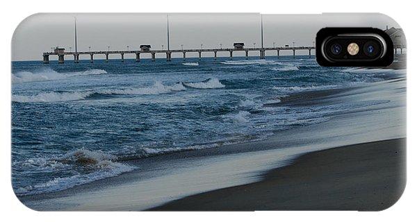 Brian Rock iPhone Case - Jennette's Pier by Brian Rock