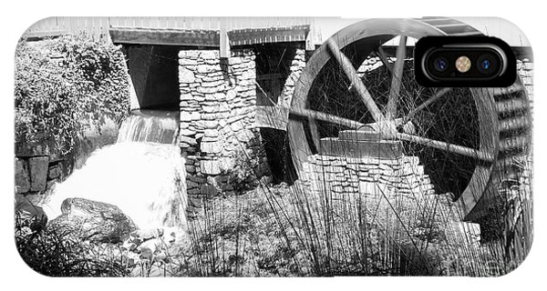 Jenney Mill In Black And White IPhone Case
