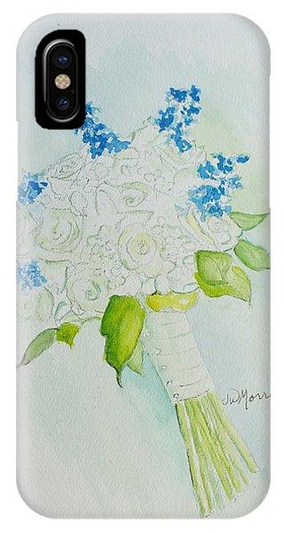 Jennifer's Wedding Bouquet IPhone Case
