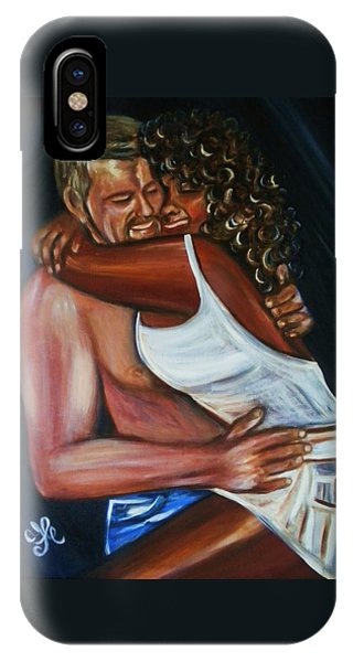 Jenny And Rene - Interracial Lovers Series IPhone Case
