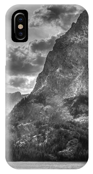 Jenny Lake In Shadow IPhone Case