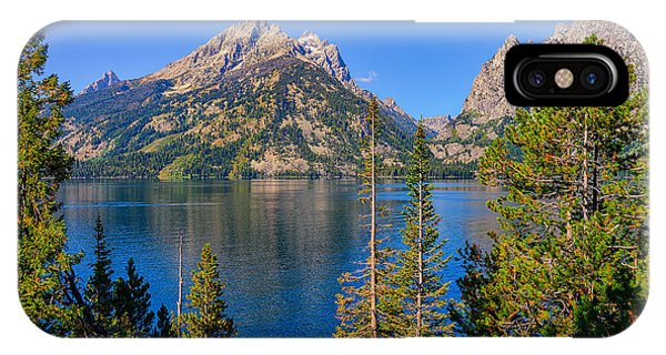 Jenny Lake Overlook IPhone Case