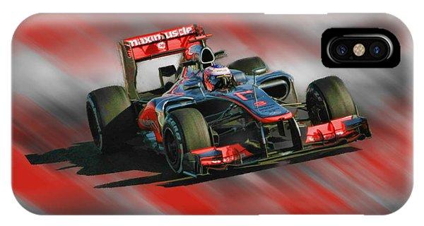 Jenson Button  IPhone Case