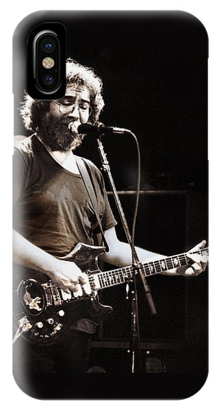 Jerry Garcia 1981 IPhone Case