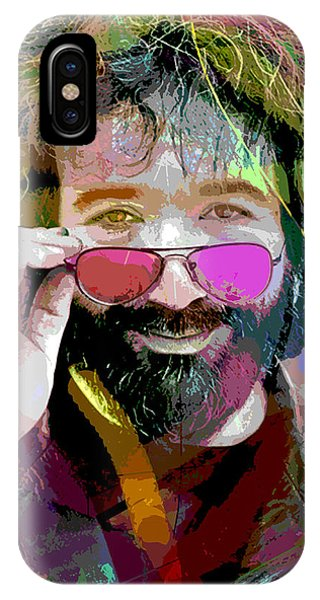 Jerry Garcia Art IPhone Case