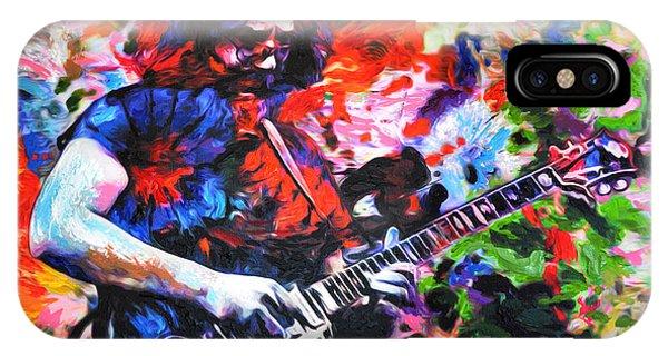 Jerry Garcia - Grateful Dead - Original Painting Print IPhone Case