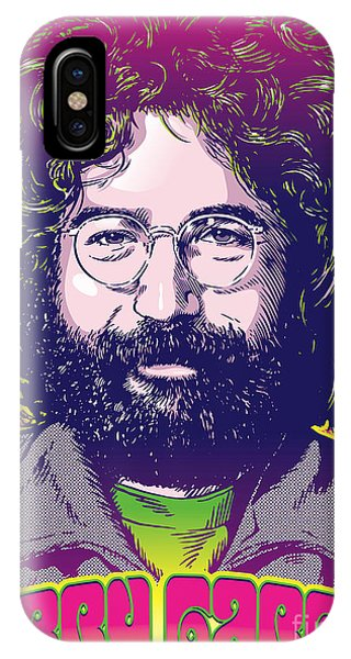 Monterey iPhone Case - Jerry Garcia Pop Art by Jim Zahniser