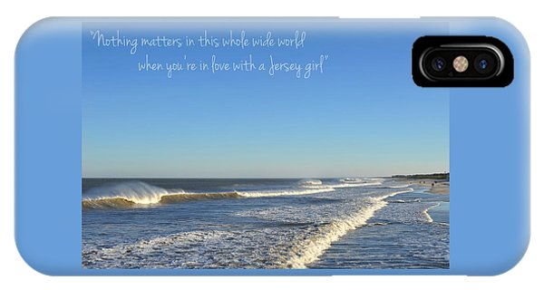 Jersey Girl Seaside Heights Quote IPhone Case