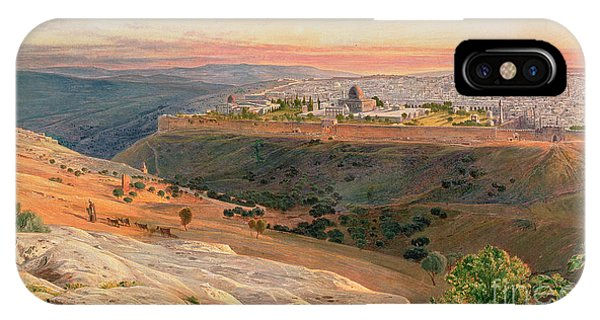 Jerusalem From The Mount Of Olives IPhone Case