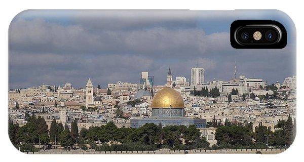 Jerusalem Old City IPhone Case
