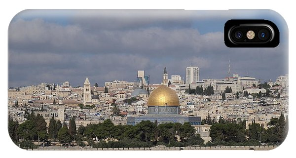 Jerusalem Old City IPhone Case