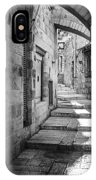 Jerusalem Street IPhone Case