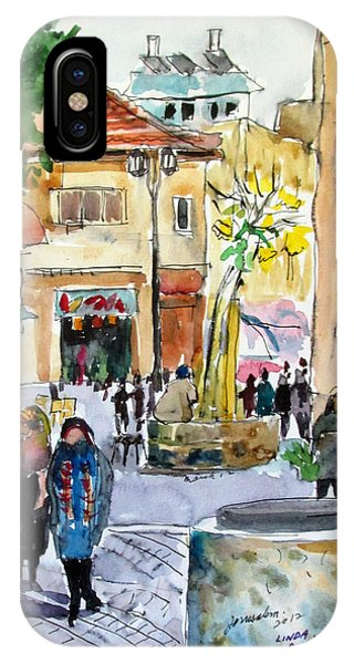 Jerusalem Street Scene IPhone Case