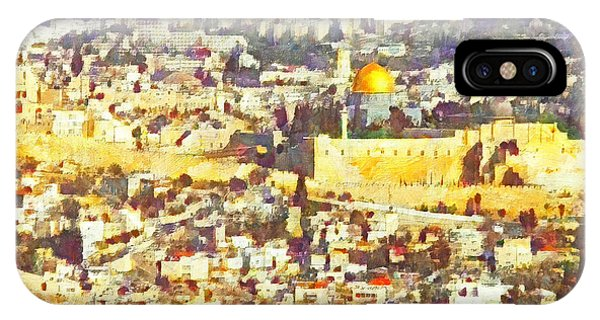 Jerusalem Sunrise IPhone Case