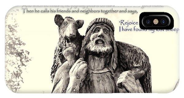 Jesus And Lamb IPhone Case