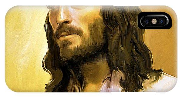 Jesus Cares IPhone Case