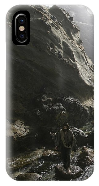 Jesus Christ- For I Know The Plans I Have For You IPhone Case