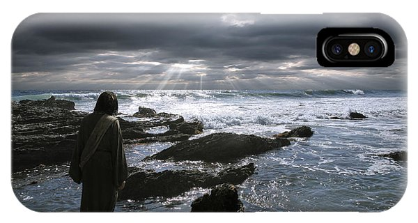Jesus Christ- The Heavens Declare The Glory Of God IPhone Case